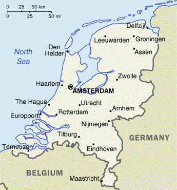 Nizozemí - Holandsko